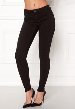 Pieces Shape-up Jeggings Black Bubbleroom.no