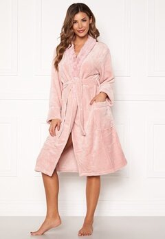 PJ. Salvage Luxe Plush Robes Rose Quartz Bubbleroom.no