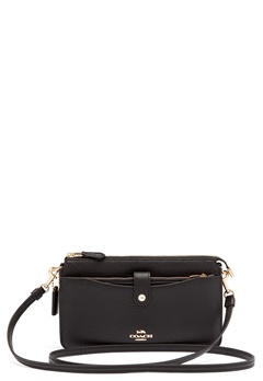COACH Polished Pebble Bag Black Bubbleroom.no