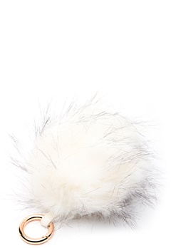 ROCKANDBLUE Pom Pom Charm Faux Fur 8010 Bleached/Gold Bubbleroom.no