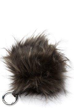 ROCKANDBLUE Pom Pom Charm Faux Fur 8370 Greyish/Silver Bubbleroom.no