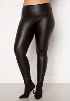 John Zack PU Curve Legging Black Bubbleroom.no