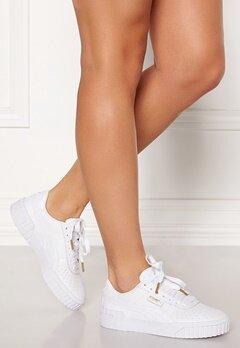 PUMA Cali Leather Sneakers 001 White Bubbleroom.no
