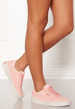 PUMA Cali Nubuck Sneakers 001 Peach Bubbleroom.no