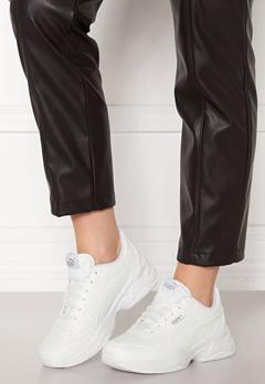 PUMA Cilia Mode Sneakers 02 White Silver Bubbleroom.no