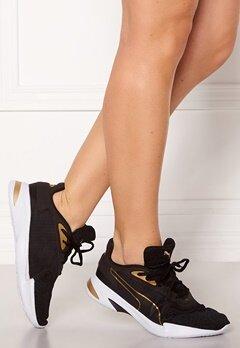 PUMA Jaro Metal Sneakers 002 Blk/Gold Bubbleroom.no