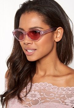 Quay Australia As If Sunglasses Pink / Pink Lens Bubbleroom.no