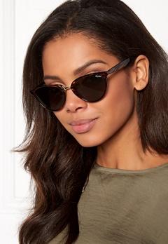Quay Australia Rumours Sunglasses Tort/Green Lens Bubbleroom.no