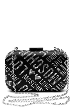 Love Moschino Quilted Small Bag Silver Bubbleroom.no