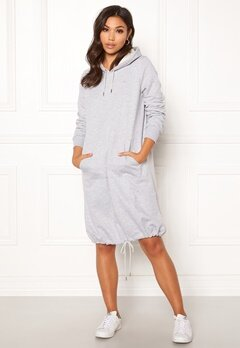 Röhnisch Comfy Dress 0006 Grey Melange Bubbleroom.no