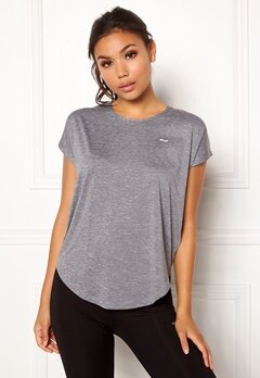 Röhnisch Leo Loose Top 0006 Grey Melange Bubbleroom.no