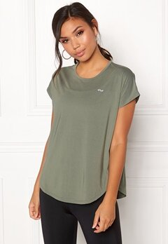 Röhnisch Leo Loose Top Combat Green Bubbleroom.no