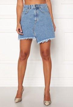 Ivyrevel Raw Edge Denim Skirt Blue Bubbleroom.no