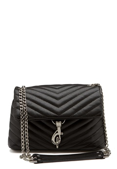 Rebecca Minkoff Edie Crossbody Pebble Bag Black Bubbleroom.no