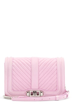 Rebecca Minkoff Small Love Crossbody Light Orchid Bubbleroom.no