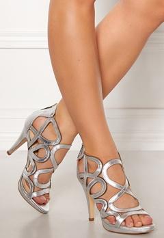 SARGOSSA Redefined Leather Heels Silver Bubbleroom.no