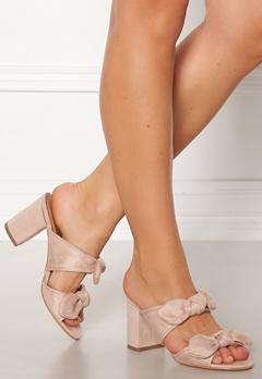 Truffle Rima Bow Sandals Nude Bubbleroom.no