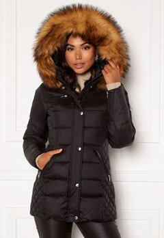 ROCKANDBLUE Beam Mid Jacket 89915 Black/Natural Bubbleroom.no