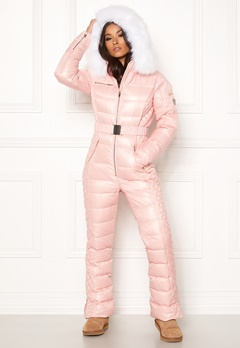 ROCKANDBLUE Ciara Jump Suit Down Light Pink/White Bubbleroom.no