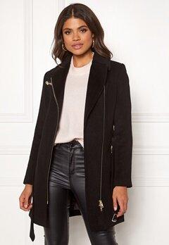 ROCKANDBLUE Eriana Wool Coat Black Bubbleroom.no