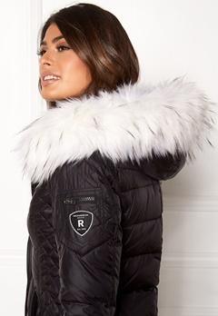 ROCKANDBLUE Faux Fur Trim Black/Bleached Bubbleroom.no