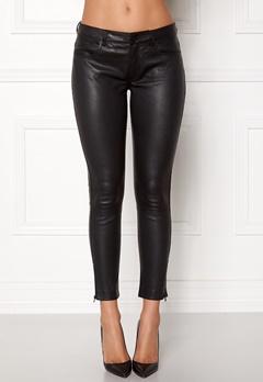 ROCKANDBLUE The Leather Pants Black Bubbleroom.no