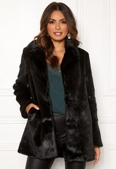 ROCKANDBLUE Tippi Faux Fur Black Bubbleroom.no