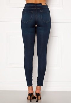 ONLY Royal Life HW Jeans Dark Blue Denim Bubbleroom.no