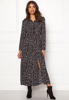 Rut & Circle Dot Long Dress White Dots Bubbleroom.no