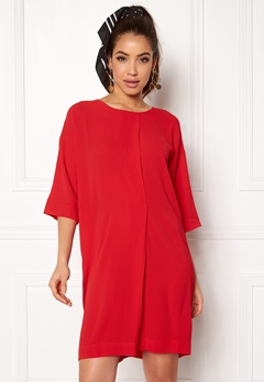 Rut & Circle Isabelle Dress Red Bubbleroom.no
