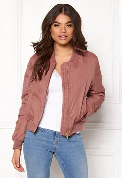 Rut & Circle Kate Bomber Jacket Canyon Pink Bubbleroom.no