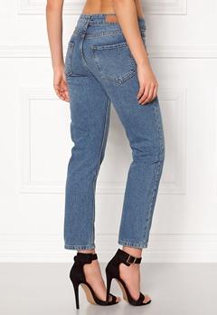 Rut & Circle Louisa Vintage Jeans Md Blue Wash Bubbleroom.no