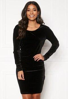 Rut & Circle Melanie Dress Black Bubbleroom.no
