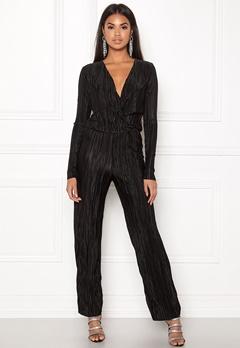 Rut & Circle Pleated Jumpsuit Black Bubbleroom.no
