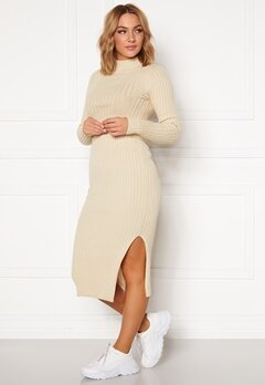 Rut & Circle Sabina Knit Skirt Light Beige Bubbleroom.no