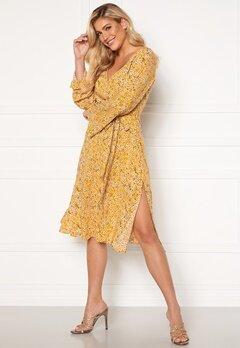 Rut & Circle Vicky Dress Mellow Yellow Bubbleroom.no
