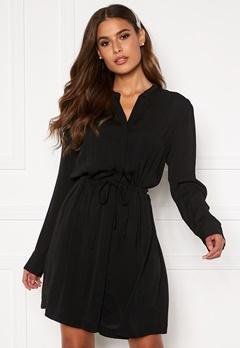 Samsøe & Samsøe Monique Shirt Dress Black Bubbleroom.no