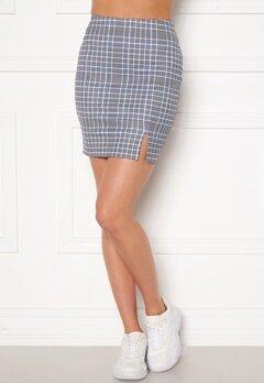 Sara Sieppi x Bubbleroom Mini Skirt Grey Bubbleroom.no