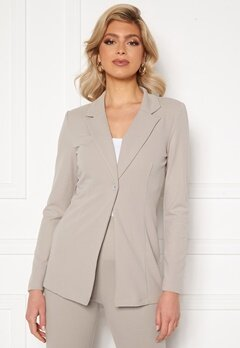 Sara Sieppi x Bubbleroom Suit Jacket Grey Bubbleroom.no