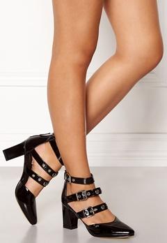 SARGOSSA Adore Heels Black With Gold Bubbleroom.no