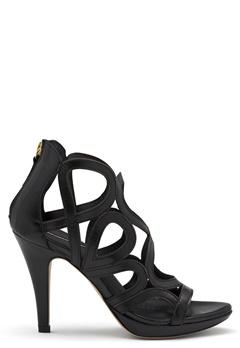 SARGOSSA Redefined New Suede Heels Black Bubbleroom.no