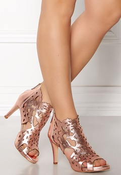 SARGOSSA Shades Nappa Leather Heels Rose Gold Bubbleroom.no