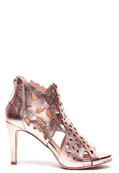 SARGOSSA Shades Nappa Leather Heels Rose Gold Bubbleroom.no