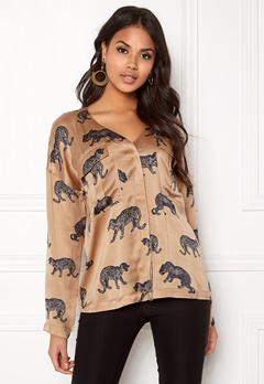 Twist & Tango Savannah Blouse Cheetah Print Bubbleroom.no