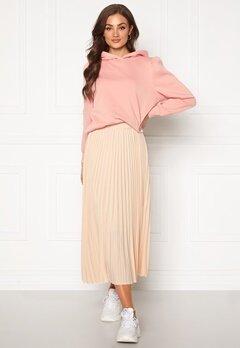 SELECTED FEMME Alexis MW Midi Skirt Sandshell Bubbleroom.no
