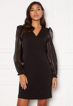 SELECTED FEMME Jomena LS Short Dress Black Bubbleroom.no