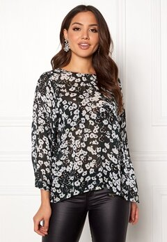 SELECTED FEMME Maggie 7/8 Top Black Bubbleroom.no