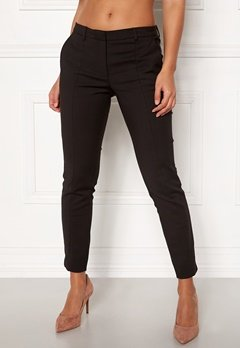 SELECTED FEMME Muse Fie Cropped MW Pant Black Bubbleroom.no