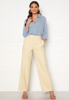 SELECTED FEMME Rita MW Wide Pant Birch Bubbleroom.no