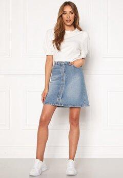 SELECTED FEMME Rose MW Denim Skirt Medium Blue Denim Bubbleroom.no